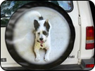 Favourite Dog Spare Wheel Cover