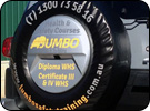 Jumbo Health and Safety Custom Spare Wheel Cover