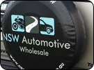 NSW Automotive Spare Wheel Cover