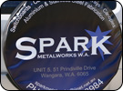 Spark Metalworks Spare Tire Cover