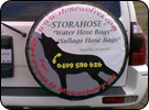 Stonewolves Spare Wheel Cover