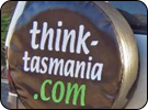 Custom Spare Wheel Cover for Think-Tasmania.com
