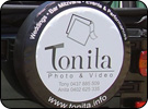 Tonita Custom Tyre Cover for Spare Wheel