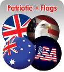 Patriotic and Flag Spare Wheel Covers